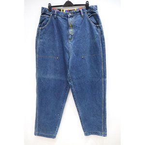Vintage P. Miller hip hop baggy jeans men's 39x35